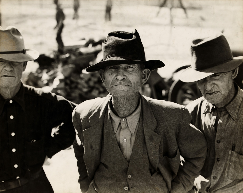 Dorothea Lange Ex tenant farmer Imperial Valley